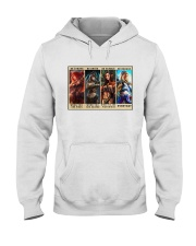 Party of Four Women Be Strong Hooded Sweatshirt tile