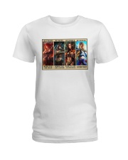 Party of Four Women Be Strong Ladies T-Shirt tile