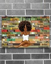 Black Girl With Yoga 17x11 Poster poster-landscape-17x11-lifestyle-18