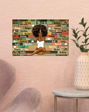 Black Girl With Yoga 17x11 Poster poster-landscape-17x11-lifestyle-22