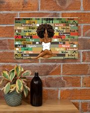 Black Girl With Yoga 17x11 Poster poster-landscape-17x11-lifestyle-23