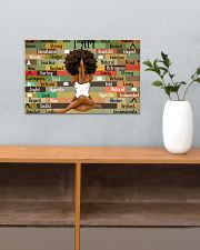 Black Girl With Yoga 17x11 Poster poster-landscape-17x11-lifestyle-24