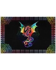 "Pride Dragon Doormat 22.5"" x 15""  front"