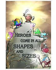 Heroes Come In All Shapes And Sizes 11x17 Poster front