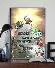 Heroes Come In All Shapes And Sizes 11x17 Poster lifestyle-poster-2