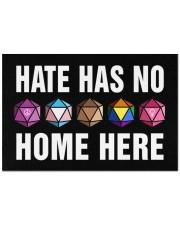 """Hate Has No Home Here Doormat 22.5"""" x 15""""  front"""