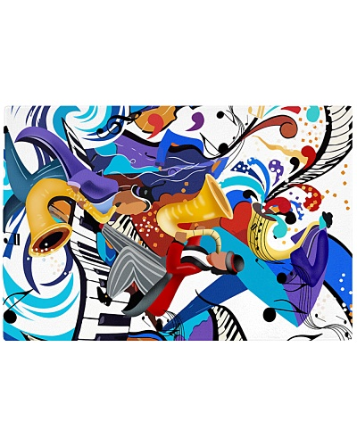 Rectangle cutting board - Jazz Art