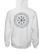 Vikingsuniverse Vegvisir-IceBlue hoodie Hooded Sweatshirt back