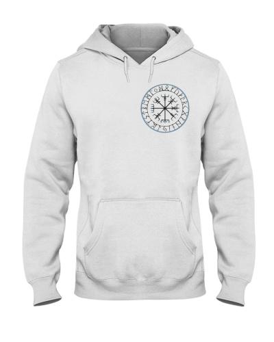 Vikingsuniverse Vegvisir-IceBlue hoodie