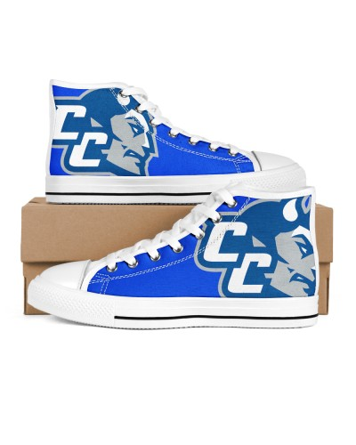 Central Connecticut Blue Devils Logo Shoes