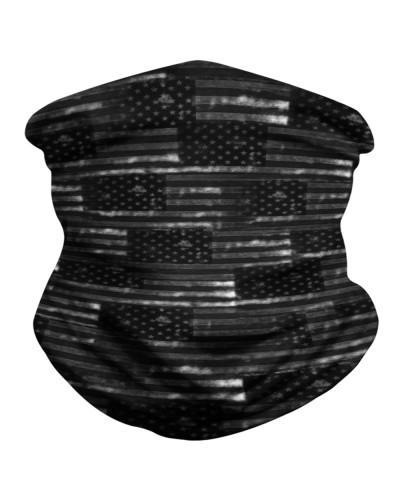 Distress American Flag Neck Gaiter