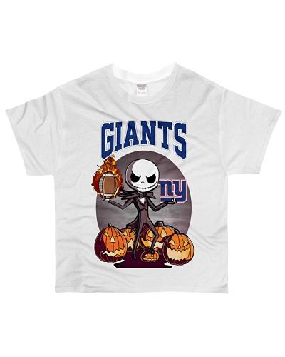 Jack Skellington Halloween New York Giants