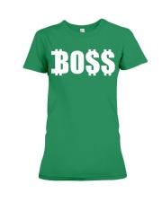 Boss Co Ladies Premium Fit Ladies Tee front
