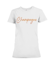 Champagne Campaign Premium Fit Ladies Tee tile