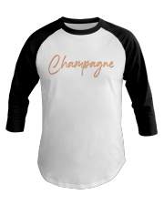 Champagne Campaign Baseball Tee tile