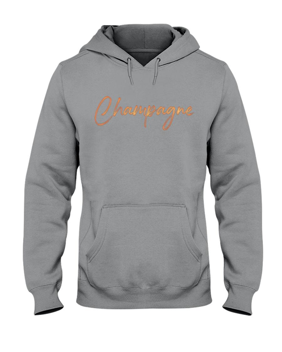 Champagne Campaign Hooded Sweatshirt