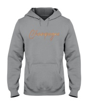 Champagne Campaign Hooded Sweatshirt front