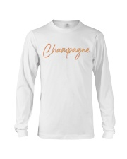 Champagne Campaign Long Sleeve Tee thumbnail