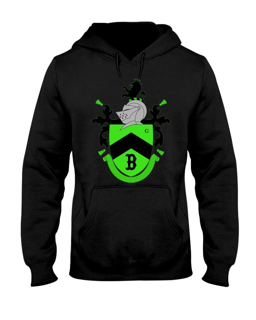 10k Shield  Hooded Sweatshirt