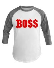Boss RED Baseball Tee front