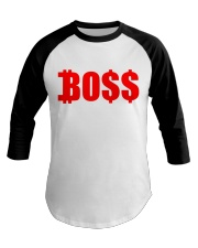Boss RED Baseball Tee front