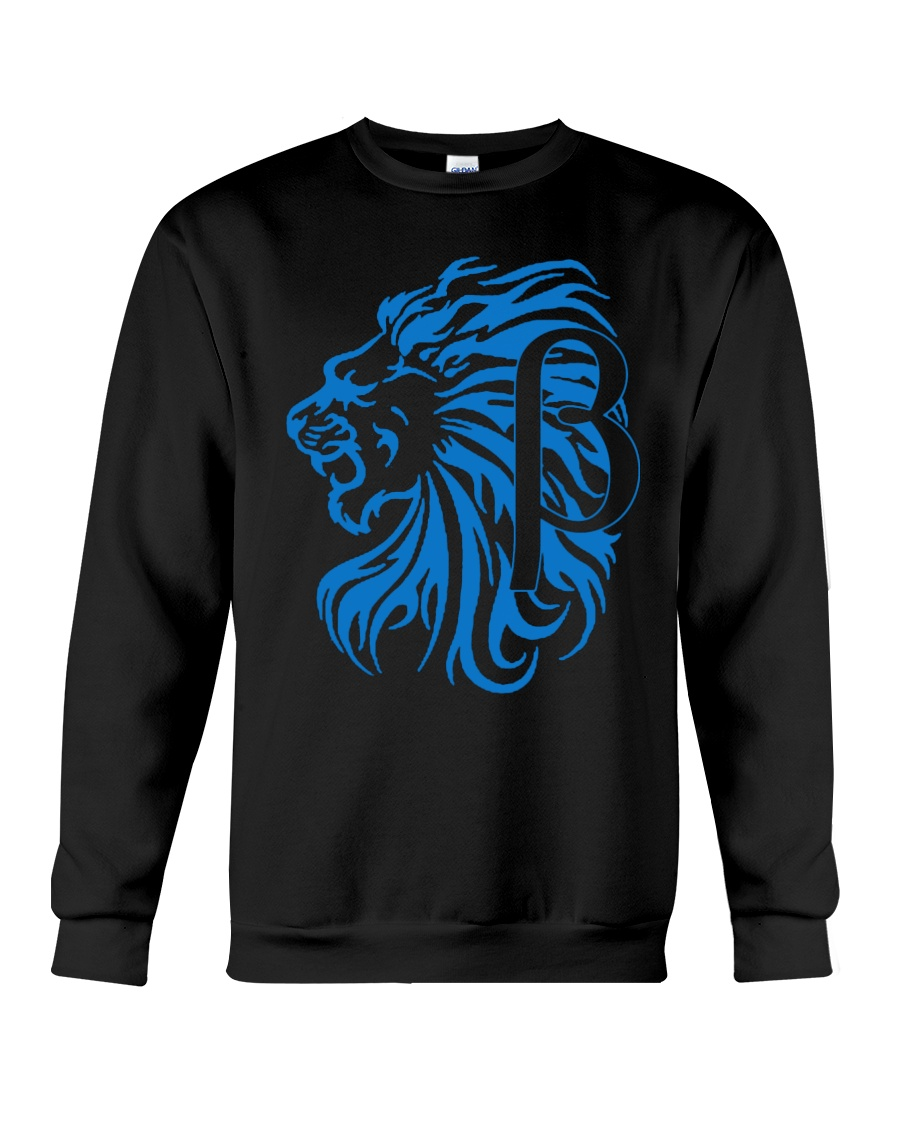 10k Lion Blue Crewneck Sweatshirt