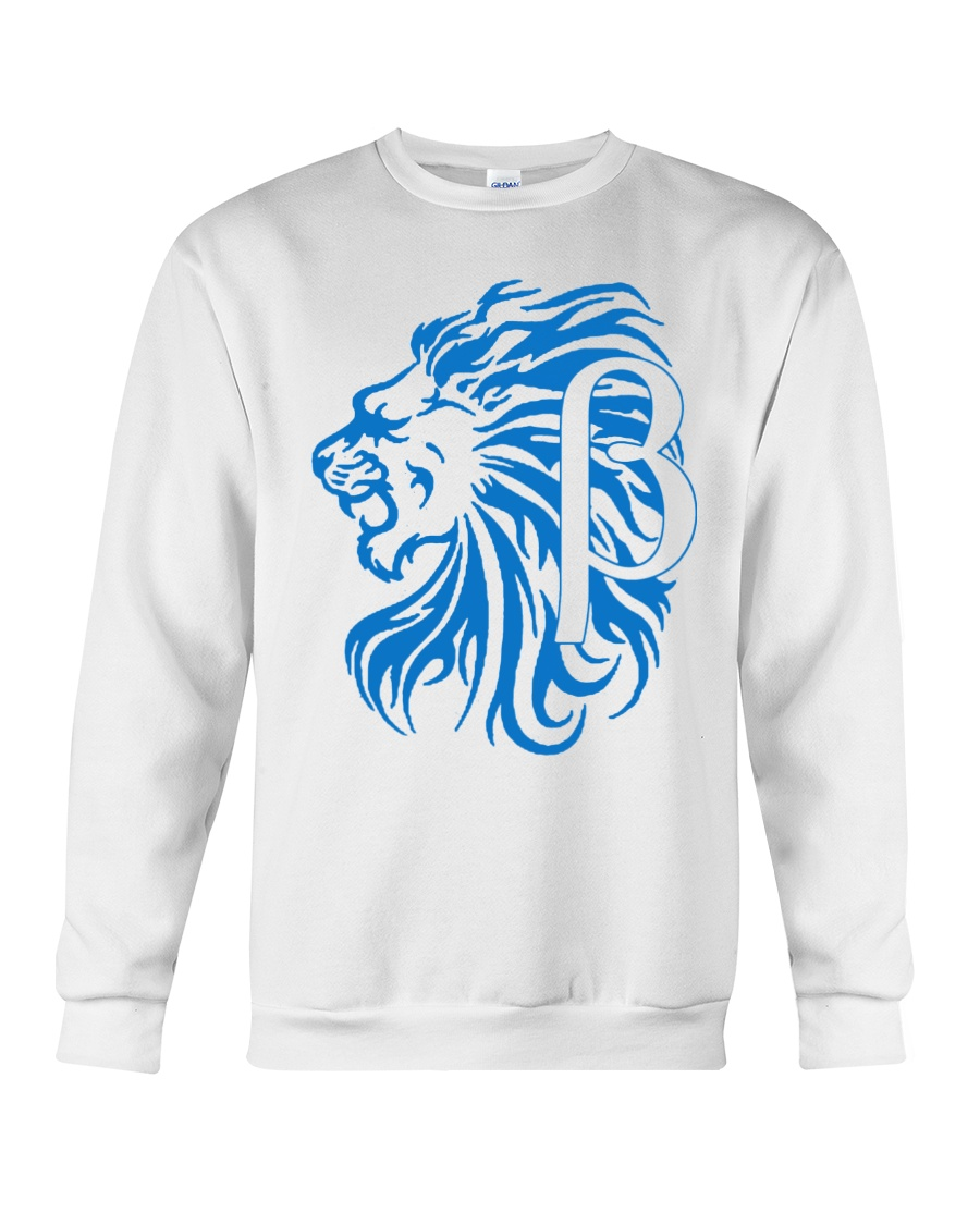10k Lion Blue Crewneck Sweatshirt
