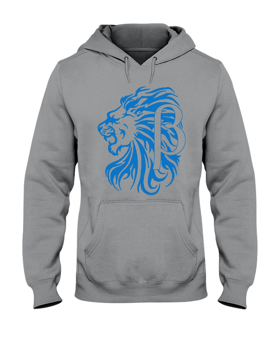 10k Lion Blue Hooded Sweatshirt