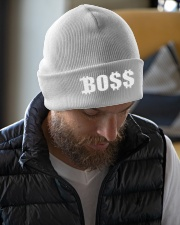 Blk Boss Baseball Tee Knit Beanie garment-embroidery-beanie-lifestyle-06