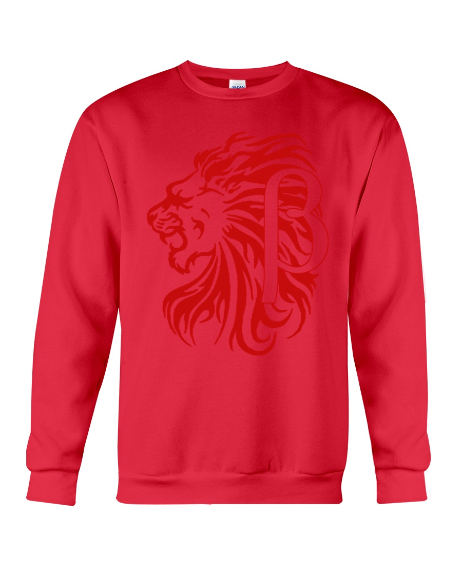 10k Red Crewneck Sweatshirt