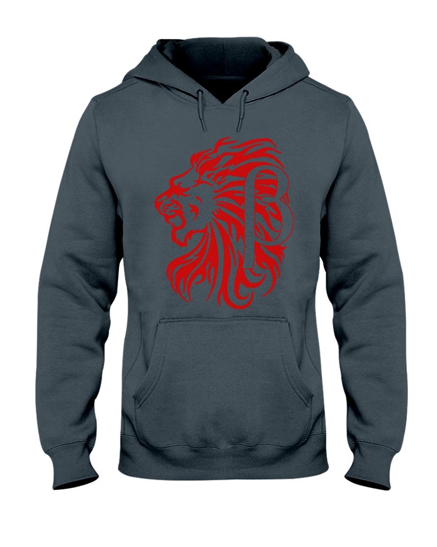 10k Red Hooded Sweatshirt