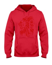 10k Red Hooded Sweatshirt thumbnail