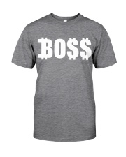 Boss White Classic T-Shirt front