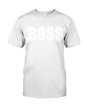 Boss White Classic T-Shirt front