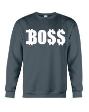 Boss White Crewneck Sweatshirt front