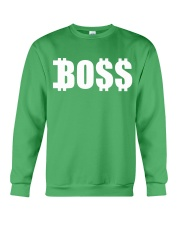 Boss White Crewneck Sweatshirt front