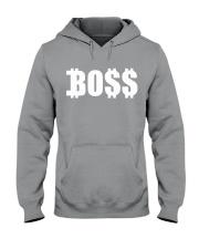 Boss White Hooded Sweatshirt front