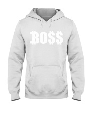 Boss White Hooded Sweatshirt thumbnail