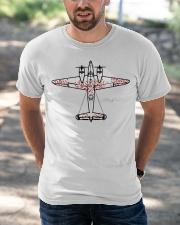 Survivorship Bias Logical Error Classic T-Shirt apparel-classic-tshirt-lifestyle-front-50