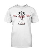 Survivorship Bias Logical Error Classic T-Shirt front