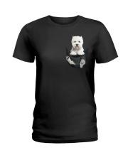 WESTIE  Ladies T-Shirt thumbnail