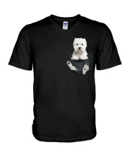 WESTIE  V-Neck T-Shirt thumbnail