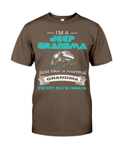 Jeep Grandma Cooler T-shirt