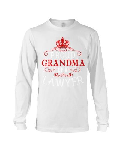 Proud Grandma of a Lawyer T-shirt