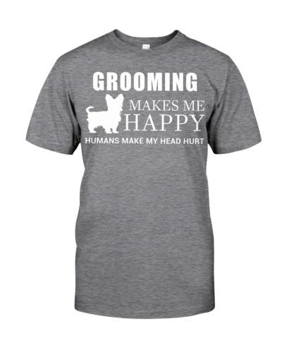 Grooming Makes Me Happy Humans Make My Head Hurt