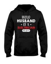 Proud Husband of an Electricican Est 2019 Hooded Sweatshirt thumbnail