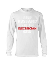 Proud Husband of an Electricican Est 2019 Long Sleeve Tee thumbnail