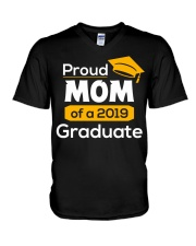 Proud Mom of a 2019 Graduate T-shirt V-Neck T-Shirt thumbnail