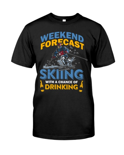Weekend Forecast Skiing With a Chance of Drinking