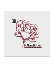 JH Rose 2 Square Coaster front